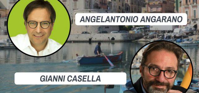 Un Sindaco per Bisceglie: all'Epass confronto pubblico tra Angarano e Casella