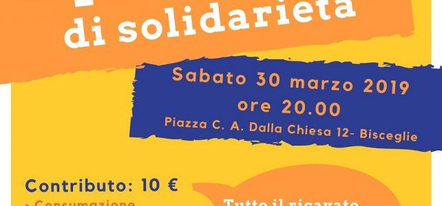 Sabato 30 marzo AperiCena di solidarietà all'Epass